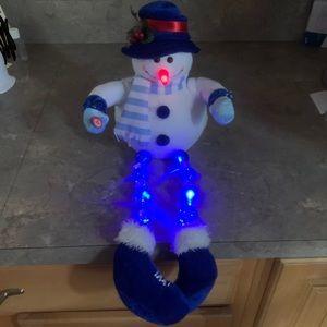 Light up snowman